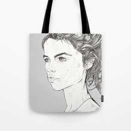 fashion portrait florine Tote Bag