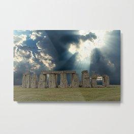 Stonehenge IV Metal Print