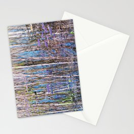 painted pond Stationery Cards