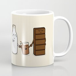 Chocolate + Milk Coffee Mug