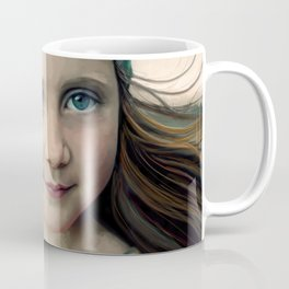 Dancer at Dusk - portrait painting of a young girl Coffee Mug