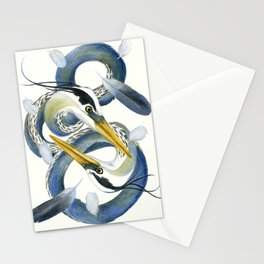 A Couple Of Herons Stationery Cards