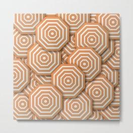 Octagons Metal Print