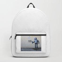 Banksy Robot (Coney Island, NYC) Backpack