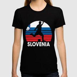Slovenia Soccer Football SVN T-shirt