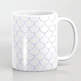Mermaid Scales in Purple Coffee Mug