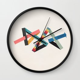 dogsht4 Wall Clock