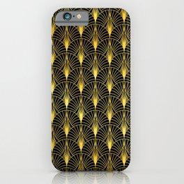 Berlin Art Deco Ornate Pattern iPhone Case