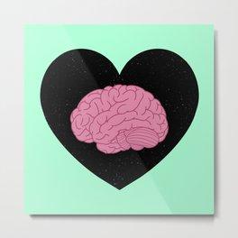 Mental Health Awareness Love Metal Print