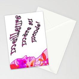 mère parfait Stationery Cards
