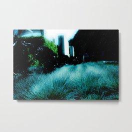 Alien Landscape - Getty Museum Gardens in Los Angeles Metal Print