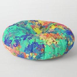 Abstract Art 07 Floor Pillow