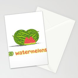 Math The Only Place Where People Buy 69 Watermelons And No One Wonders Why T-shirt Design Seeds Stationery Cards