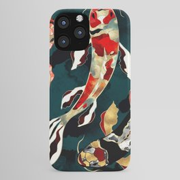 Metallic Koi iPhone Case