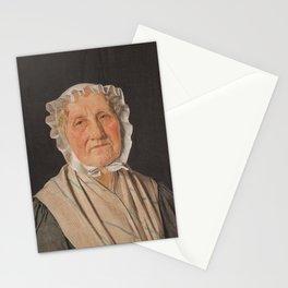 Christen Købke - Portrait of Inger Margrethe Høyen, nee Schrøder, the Mother of the Art Historian NL Stationery Cards