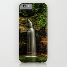 USA Hocking Hills State Park Logan Ohio Nature Waterfalls Parks Moss park iPhone Case