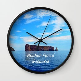Perce Gaspesie Edition Speciale Wall Clock
