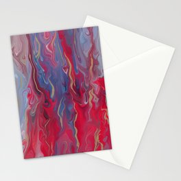 Ink marble No5 Stationery Cards