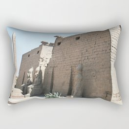 Temple of Luxor, no. 26 Rectangular Pillow