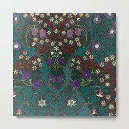 Blackthorn - William Morris Metal Print