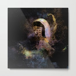 JEZEBEL-6-4-Abstract Metal Print
