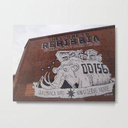 italian graffiti III Metal Print