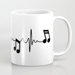MUSICAL HEART BEAT Coffee Mug