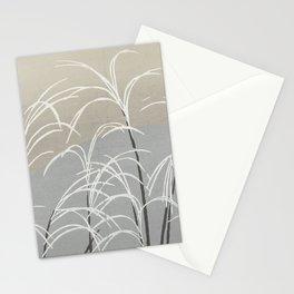 Kamisaka Sekka - Flowers of a Hundred Worlds - Moon and Grasses (1909) Stationery Cards