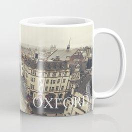 Red buses at Oxford Coffee Mug