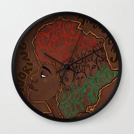 Honoring our Ancestors Wall Clock