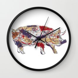 Hog Wall Clock