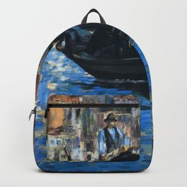 """Édouard Manet """"The grand canal of Venice (Blue Venice)"""" Backpack"""