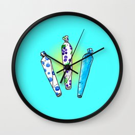 joints of summer Wall Clock