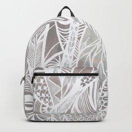 Earthy Feathers Backpack