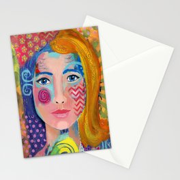 """Multi-faceted"" Stationery Cards"