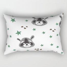 Raccoons Rectangular Pillow