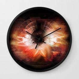 Cherub Under the Microscope: 4 Wall Clock