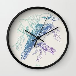 New Twist - The Laughing Jackass  Wall Clock