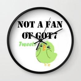 Not a fan of Got7 Ahgase Tweet! Wall Clock