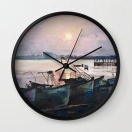 Sea Sunset Wall Clock
