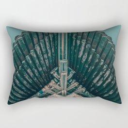Asian Temple Travel Photography Rectangular Pillow