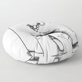 asc 462 - L'ornement (I want it inside me) Floor Pillow