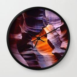 Antelope Canyon Magic, Arizona Wall Clock
