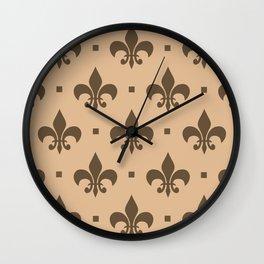 Concealed Splendor Wall Clock