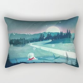 A Mermaid's Dream Rectangular Pillow