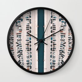Where have i parked? Wall Clock