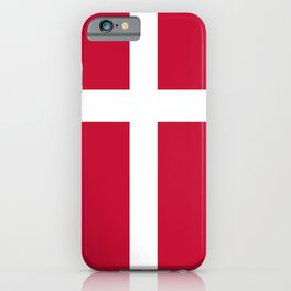 Flag of Denmark iPhone Case