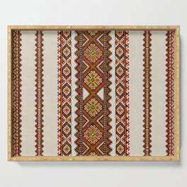 Ukrainian embroidery Serving Tray