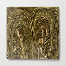 Rustig Nature Texture Metal Print