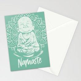Namaste Buddha Mandala Stationery Cards